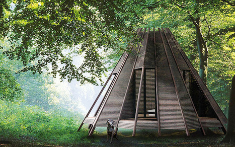 Customizable Tee-Pee Inspired Structure Can Double as a Raft | Le It e Amo ✪ | Scoop.it