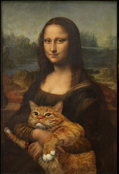 Famous Works of Art Improved by Cats           (no doubt) | Visual*~*Revolution | Scoop.it