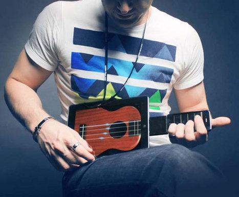 Guitare tactile – Futulele transforme votre iPad en Ukulele ! | Musique numérique & tactile | Scoop.it