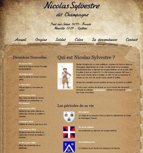La généalogie d'Hervé - Nicolas Sylvestre dit Champagne, soldat de Carignan   Chroniques d'antan et d'ailleurs   Scoop.it