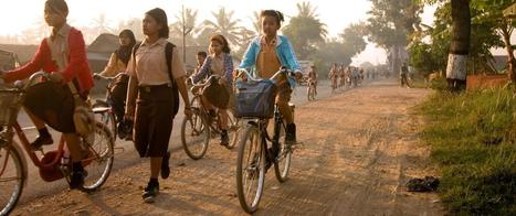 20 photos of kids' journeys to school from around the world | Français 4-5 | Scoop.it