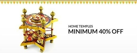 Home Temples - MINIMUM 40% OFF , deals fromHome and Garden, discount voucher from India | thetradeboss | Scoop.it