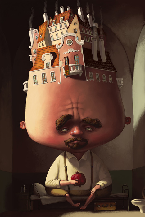 Creative Illustrations And Character Designs By Denis Zilber | Visual Inspiration | Scoop.it