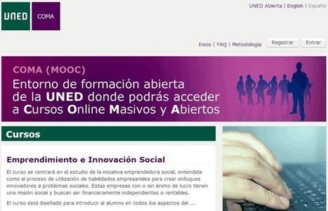 Cursos Online gratuitos de la UNED para capacitarse por Internet | Las TIC y la Educación | Scoop.it