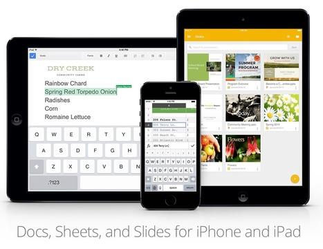 Google 簡報 iPhone、 iPad App 下載,支援編輯Office | 道成資訊安全專業 | Scoop.it