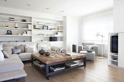 Mesa de centro sencilla y bonita, muebles y accesorios, estilo ... | ARIS casas | Scoop.it