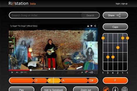 Musiciens, cette appli affiche les accords de n'importe quelle vidéo YouTube | Industries musicales | Scoop.it