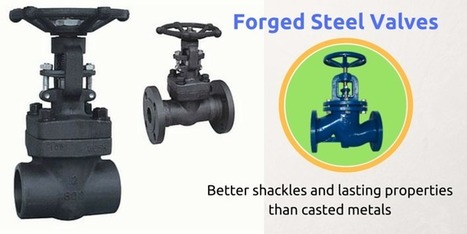 Forged Steel Valves Have Better Shackles And Lasting Properties   Valve manufacturers and exporters in India   Scoop.it