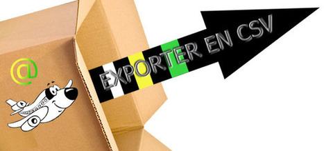Exporter ses contacts Outlook vers Excel au format CSV | François MAGNAN  Formateur Consultant | Scoop.it