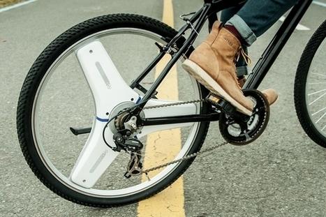 Centinel Wheel : une roue pour transformer son vélo en vélo électrique   Innovations francophones   Scoop.it