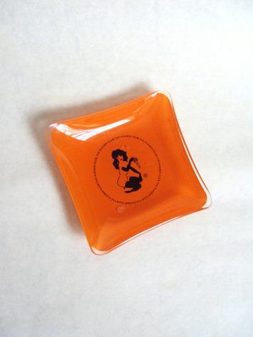 1970s Orange glass PLAYBOY pin dish | Kitsch | Scoop.it
