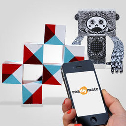 reaDIYmate: Build animated paper companions reacting to your digital life. | ROBOKIDS | Scoop.it
