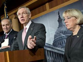 Senate Democrats offer budget plan with tax increases and spending cuts | Current Events- gov & law | Scoop.it