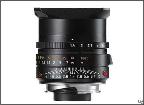 Leica redesigns 35mm f/1.4 lens for M series: Digital Photography Review | Sculpting in light | Scoop.it