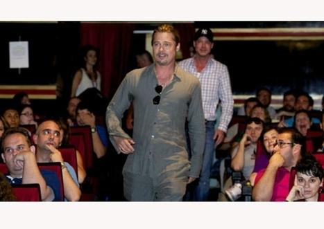 """SUPER Brad Pitt irrumpe en premiere de """"World War Z"""" en Madrid - Quién.com   cultura   Scoop.it"""