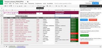 Aprende los tiempos verbales con Google Apps | Documentos de Google | Scoop.it