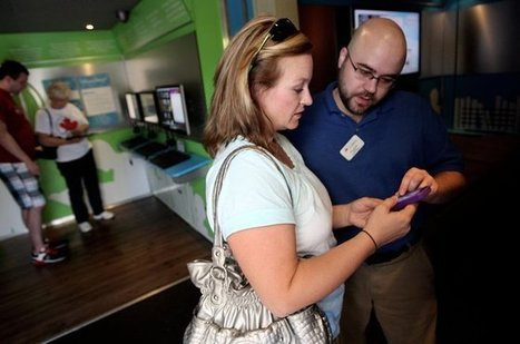 Digital Bookmobile helps patrons learn more about hi-tech - Tulsa World | Professional development of Librarians | Scoop.it