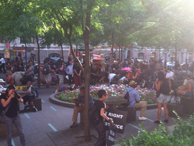 Zuccotti Park Occupy Wall Street - Business Insider | #OWS | Scoop.it