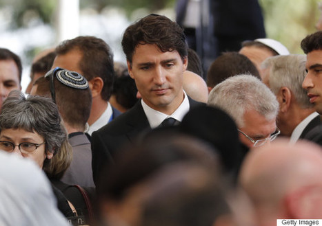 Trudeau's Delegation To Former Israeli PM's Funeral Garners Praise | Information wars | Scoop.it
