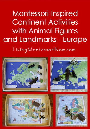 Montessori-Inspired Continent Activities with Animal Figures and Landmarks – Europe | Montessori Inspired | Scoop.it