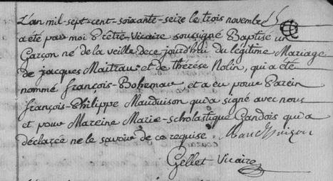 Pourquoi appeler son fils Bohémar ? | Autour de Nouan-le-Fuzelier | Scoop.it