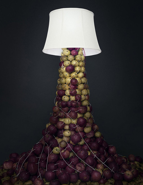 Back to Light: Artist Caleb Charland Uses Fruit Batteries to Illuminate Long-Exposure Photographs | Colossal | Art-STEM Connections | Scoop.it