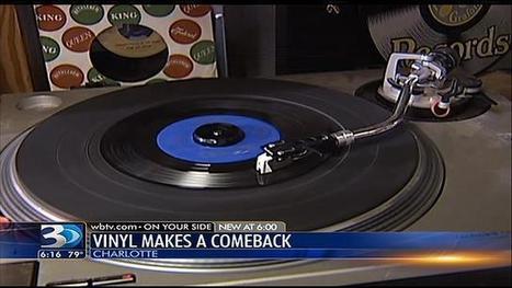 Vinyl record sales seeing comeback - WBTV   Vinyl Records Make A Comeback   Scoop.it