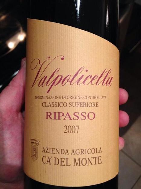 Twitter / warren_walden: Easily one of the best Ripasso's ...   Terroir Amarone   Scoop.it
