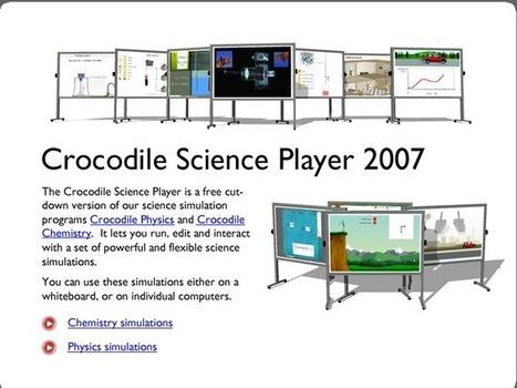 Crocodile Clips, un simulador para el aprendizaje de Física, Química y Tecnología en los centros educativos extremeños   EDUTEIMENT : Educación y juegos   Scoop.it