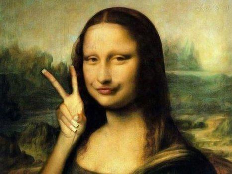 mona-lisa-parodies-32.jpg (590x442 pixels) | Hmm what is a good topic? | Scoop.it