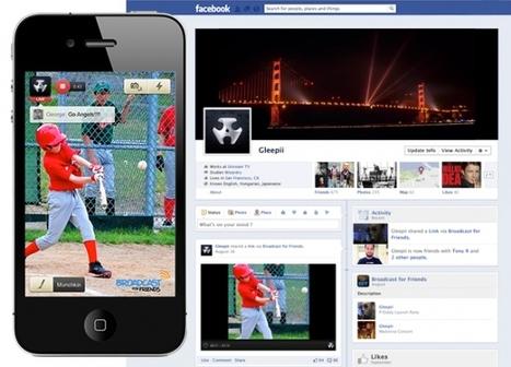Ustream's new Broadcast for Friends iPhone app streams video directly toFacebook   iFilmmaking   Scoop.it