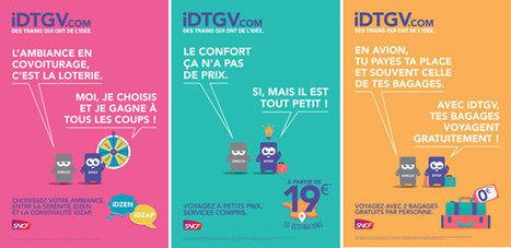La nouvelle campagne de marque IDTGV | Marketing et communication | L'actualité marketing et communication | Scoop.it