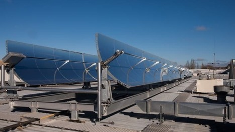 Solar-powered air-con uses heat to cool shopping center | Actual IT | Scoop.it