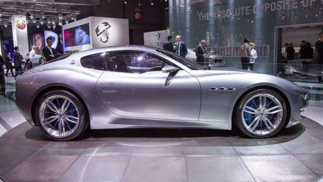 Maserati will build an EV version of its gorgeous Alfieri concept - Roadshow   The Automotive View   Scoop.it