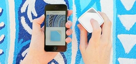 Un cube connecté permettant de prélever des couleurs pour les stocker sur son Smartphone   Innovations   Scoop.it
