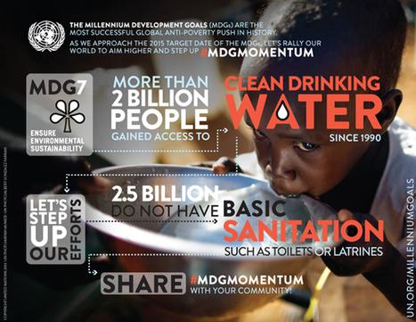 United Nations Millennium Development Goals   Ensure environmental sustainability   Scoop.it