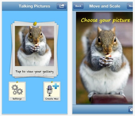 Talking Pictures | Languages: ICT  teaching resources | Scoop.it