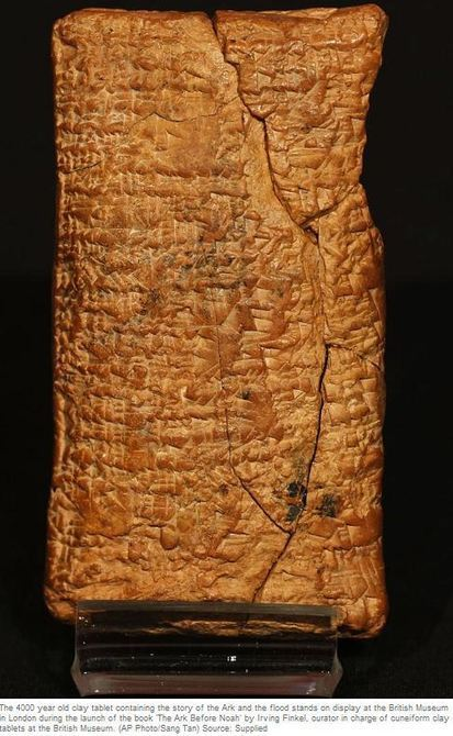 A 4000-year-old tablet from ancient Mesopotamia contains the ... | Neolithic Era | Scoop.it