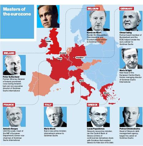Goldman Sachs finalise sa prise de contrôle économique surl'Europe | Bankster | Scoop.it