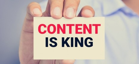 Content Marketing - Content Is Forever King | Sales Drive | Scoop.it