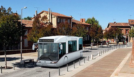 Businova le bus du futur de Safra sera testé à Toulouse | Toulouse La Ville Rose | Scoop.it