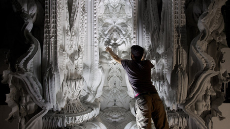 This Insanely Complex 3-D Printed Room Will Make Your Jaw Drop | 3D printing | Scoop.it
