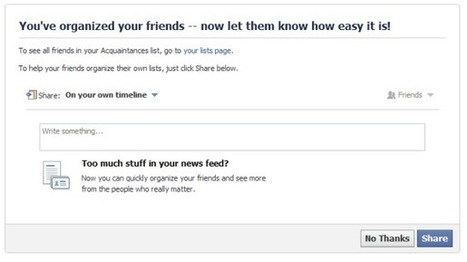 Seven Tips for Spicing Up Your Facebook News Feed | Social Media Collaboration | Scoop.it
