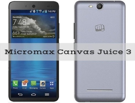 Micromax Canvas Juice 3 packed with 4000 mAh Battery, priced at Rs. 8769   Mobile   Scoop.it