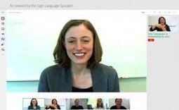 Lenguaje de signos en Hangouts para una mayor accesibilidad | ADI revisión | Scoop.it