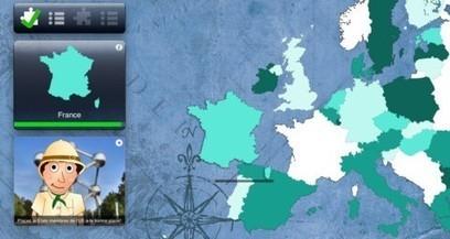 Clin d'oeil outil : La géographie de l'Europe avec Got It Europe | ENT | Scoop.it
