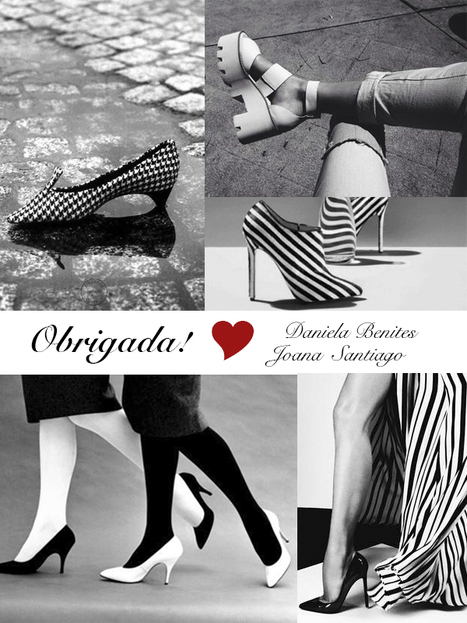 Black&White...thank you girls! | SHOES | Scoop.it