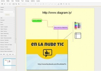 En la nube TIC: Crea diagramas, organigramas... desde tu Google Drive (Google Docs) con #Diagramly #app #Chrome | educacontec | Scoop.it