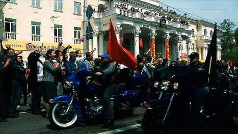 Russian Bikers Head To Berlin For WWII Rally | World at War | Scoop.it