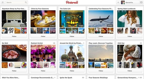Four Seasons' Pinterest Strategy Is Focused on Inspiration, Not Bookings   Best Practices Brand & Social Media   Scoop.it